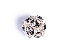 Z35101 35101 Z35601 35601 Z35801 35801 Cuenta rhinestone cristal checo bola plateada black Innspiro