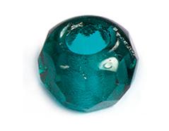 Z36209 36209 Cuentas cristal checo facetada con agujero grande blue zircon Innspiro