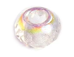 Z36230 36230 Cuentas cristal checo facetada con agujero grande crystal AB Innspiro