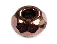 Z36273 36273 Cuentas cristal checo facetada con agujero grande cobre Innspiro