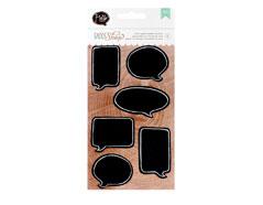 366634 Set 6 etiquetas globos DIY Shop Chalk Bubbble American Crafts