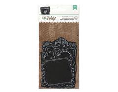 366637 Marcos pre cortados DIY Shop Chalk Diecut Frames American Crafts