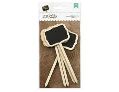 366638 Letreros DIY Shop Chalkboard Signposts 5u American Crafts