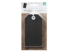 366641 Etiquetas DIY Shop Chalkboard Tags American Crafts