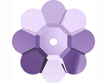 A3700-539-6 3700-539-6 3700-539-8 Piedras para coser de cristal Marguerite Lochrose 3700 tanzanite Swarovski Autorized Retailer