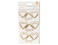 370824 Clips jumbo corazon American Crafts