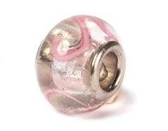 Z3711 3711 Cuenta cristal DO-LINK bola rosa transparente Innspiro