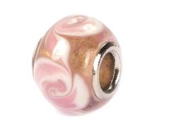 Z3712 3712 Cuenta cristal DO-LINK bola rosa con flores Innspiro