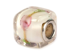 Z3715 3715 Cuenta cristal DO-LINK cubo transparente con cenefa Innspiro
