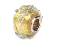 Z3719 3719 Cuenta cristal DO-LINK bola transparente filigrana Innspiro