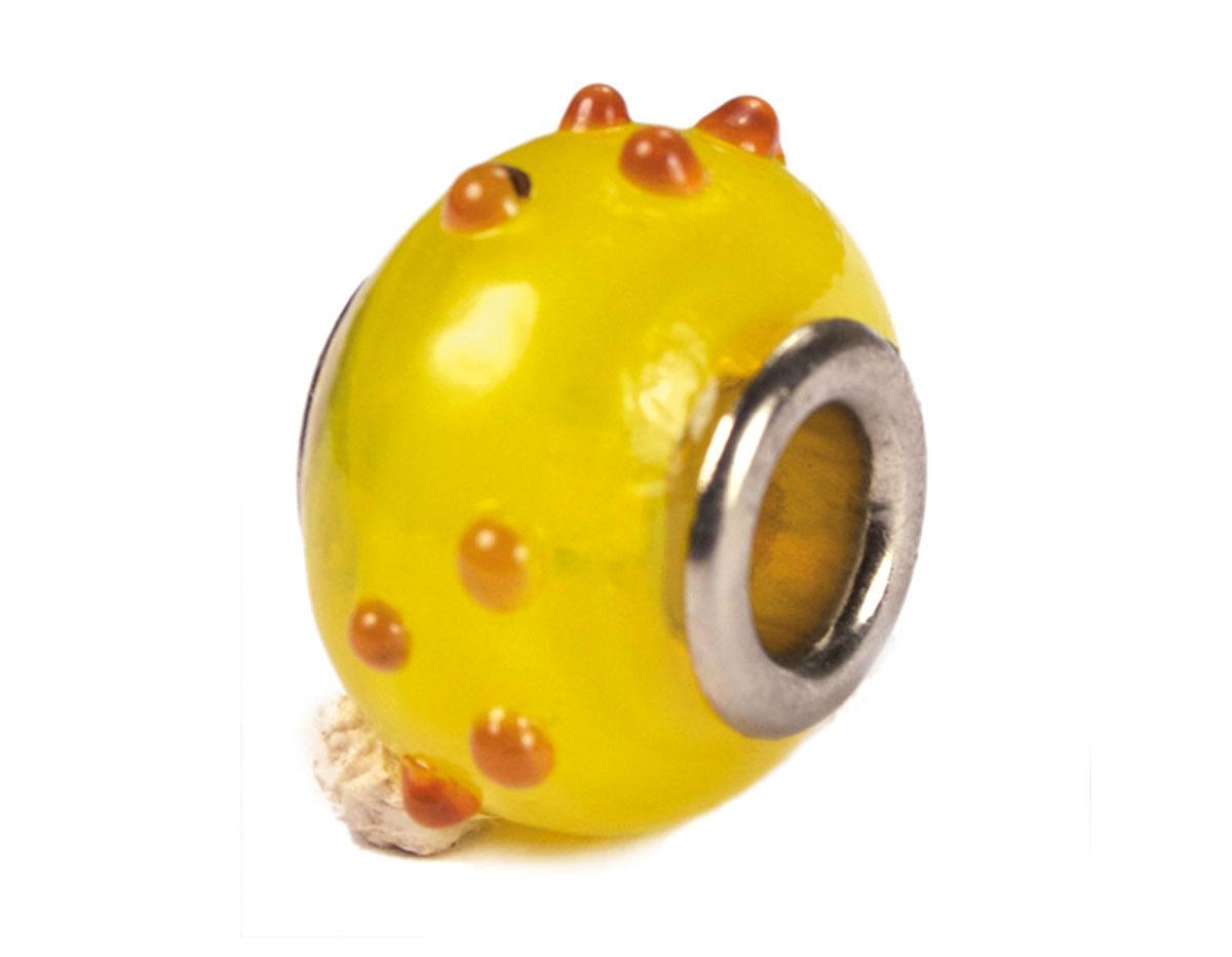 Z3731 3731 Cuenta cristal DO-LINK bola amarillo con puntos rojos Innspiro