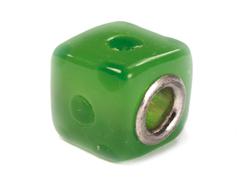 Z3733 3733 Cuenta cristal DO-LINK cubo verde Innspiro