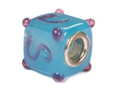 Z3740 3740 Cuenta cristal DO-LINK cubo azul oceano Innspiro