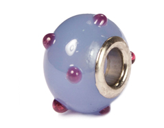 Z3750 3750 Cuenta cristal DO-LINK bola azul grisaceo puntos Innspiro - Ítem