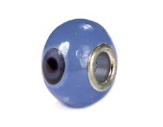 Z3752 3752 Cuenta cristal DO-LINK bola azul con ojos Innspiro