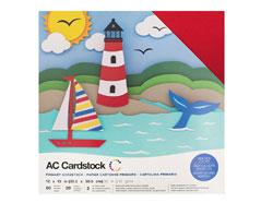 376982 Set 60 cartulinas Primaries Variety Pack American Crafts
