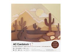 376986 Set 60 cartulinas Neutrals Variety Pack American Crafts