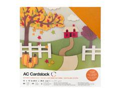 376987 Set 60 cartulinas Autumn Variety Pack American Crafts
