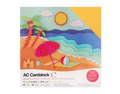 376988 Set 60 cartulinas Summer Variety Pack American Crafts