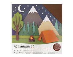 376989 Set 60 cartulinas Earth Tones Variety Pack American Crafts
