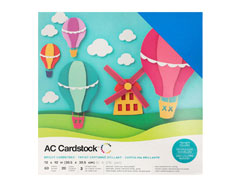 376990 Set 60 cartulinas Brights Variety Pack American Crafts