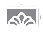 39104 Troqueladora de bordes continuos Border Punch hojas Innspiro - Ítem2