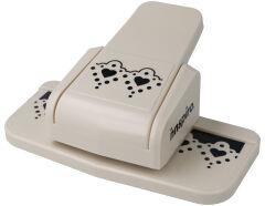 39106 Troqueladora de bordes continuos Border Punch corazones Innspiro