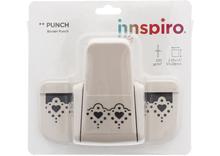 39106 Troqueladora de bordes continuos Border Punch corazones Innspiro - Ítem1