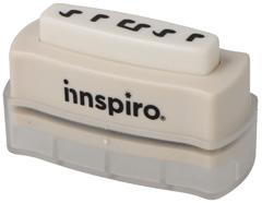 39201 Cartucho para troqueladora de bordes Interchangeable Border Punch notas musicales Innspiro
