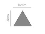 39501 Troqueladora de figuras Eva Foam Punch triangulo Innspiro - Ítem2
