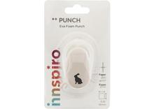 39506 Troqueladora de figuras Eva Foam Punch conejo Innspiro - Ítem1