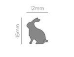 39506 Troqueladora de figuras Eva Foam Punch conejo Innspiro - Ítem2