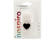 Troqueladora de figuras Eva Foam Punch corazón 25mm.