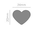 39603 Troqueladora de figuras Eva Foam Punch corazon Innspiro - Ítem2