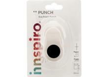 39606 Troqueladora de figuras Eva Foam Punch circulo Innspiro - Ítem1