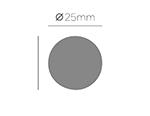 39606 Troqueladora de figuras Eva Foam Punch circulo Innspiro - Ítem2
