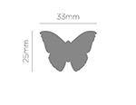 39702 Troqueladora de figuras Eva Foam Punch mariposa Innspiro - Ítem2