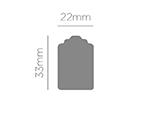39706 Troqueladora de figuras Eva Foam Punch etiqueta Innspiro - Ítem2