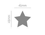 Troqueladora de figuras Eva Foam Punch estrella 50mm.