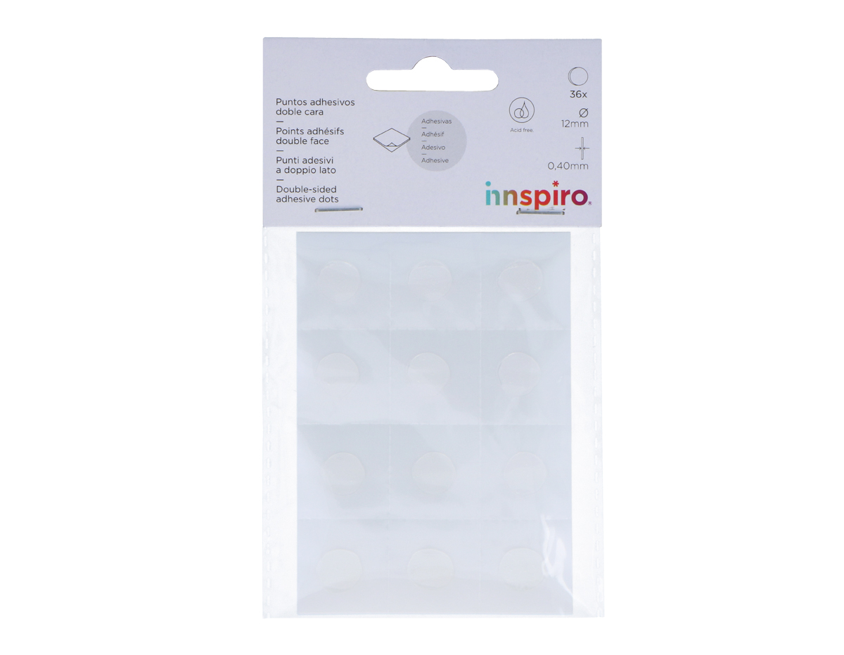 4096 Puntos adhesivos doble cara Innspiro