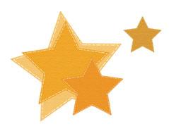41010 Set 4 troqueles finos ZAG Estrellas Misskuty
