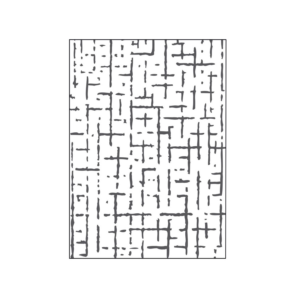41018 Carpeta de repujado 2D PUSH Pared Misskuty