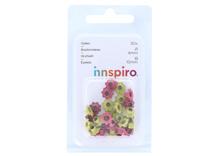 41035 Set 30 ojales flor colores surtidos Innspiro - Ítem1