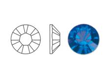 44206 SW XILION CHATON CAPRI BLUE PP23-2 9mm Swarovski Autorized Retailer
