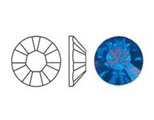 44306 SW X CH incrustar CAPRI BLUE PP28- 3 50mm 144-u Swarovski Autorized Retailer