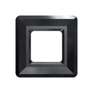 A4439-280-20 A4439-280-14 Piedras de cristal Square Ring 4439 jet Swarovski Autorized Retailer