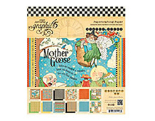 4500755 MOTHER GOOSE-8x8 MOTHER GOOSE 8X8 PAD Graphic45