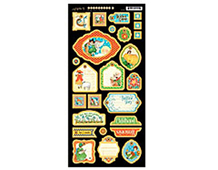 4500763 MOTHER GOOSE- MOTHER GOOSE CHIPBOARD DIE-CUTS 2 Graphic45