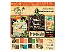 4500774 TYPOGRAPHY-12x12 TYPOGRAPHY 12X12 PAD Graphic45