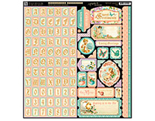4500811 SWEET SENTIMENTS- SWEETS SENTIMENTS STICKERS Graphic45